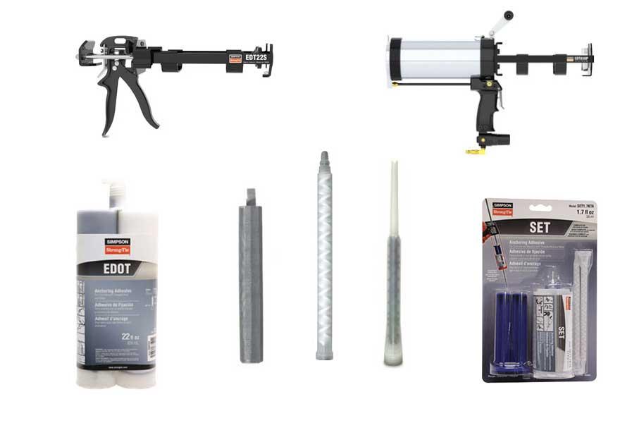 Chemical Anchoring - Adhesives, Dispensing Tools, Mixing Nozzles