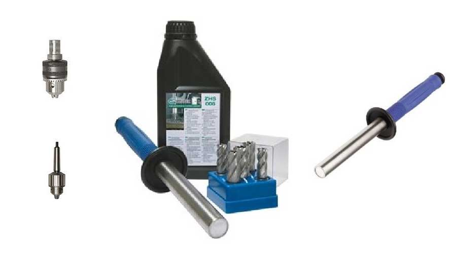 CS Unitec Portable Magnetic Drill Accessories